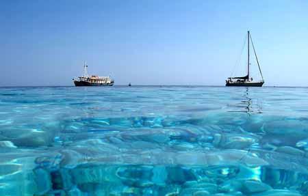 vacanze in barca a vela in Grecia mare