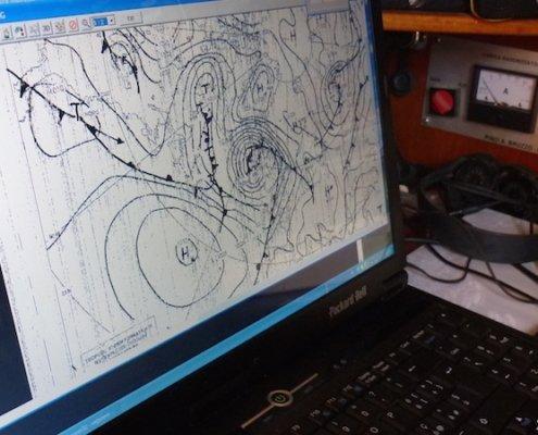 scuola vela navigazione altura meteorologia