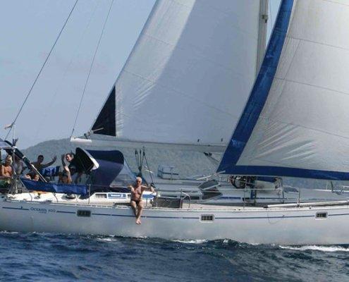 vacanze in barca a vela con skipper carlo lai navigazione
