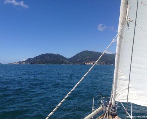 week end in barca a vela liguria golfo dei poeti