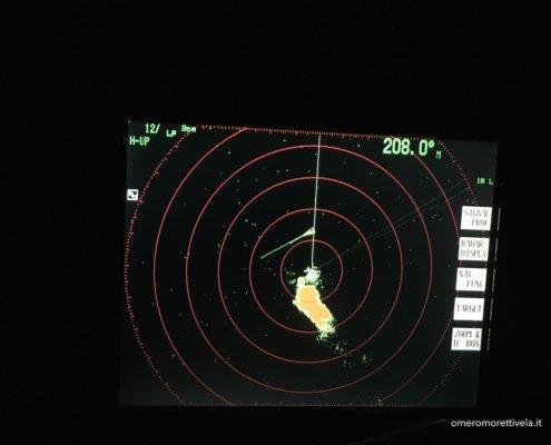 scuola vela navigazione altura radar