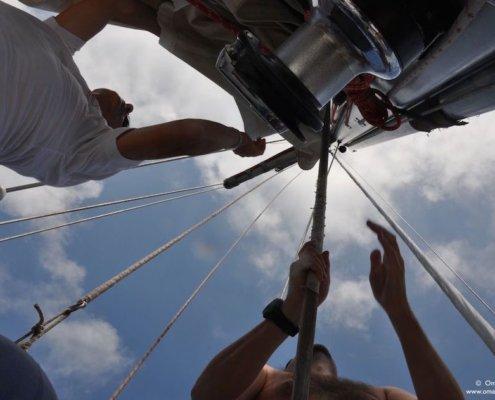scuola vela navigazione altura manovre