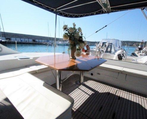 vacanze in catamarano pozzetto