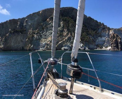 vacanze in barca a vela con skipper ponza frontone
